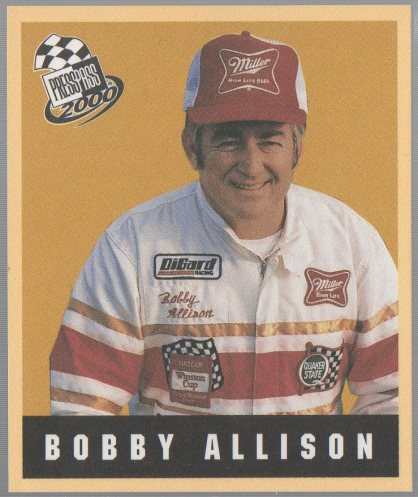 2000 Press Pass Techno-Retro #TR28 Bobby Allison
