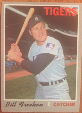1970 Topps #335 Bill Freehan