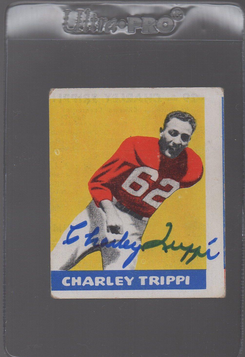 1948 Leaf #29 Charley Trippi RC