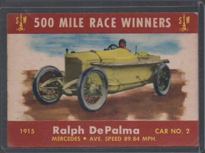 1954 Stark and Wetzel Indy Winners #1915 Ralph DePalma