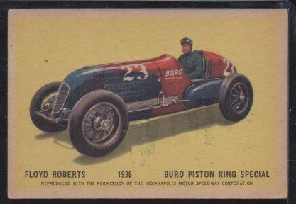 1960 Parkhurst Hawes Wax Indy #26 Floyd Roberts