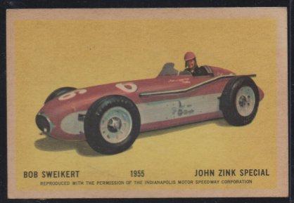 1960 Parkhurst Hawes Wax Indy #39 Bob Sweikert