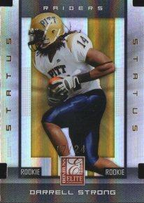 2008 Donruss Elite Status Gold #134 Darrell Strong /24