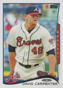 2014 Topps Update #US218 David Carpenter