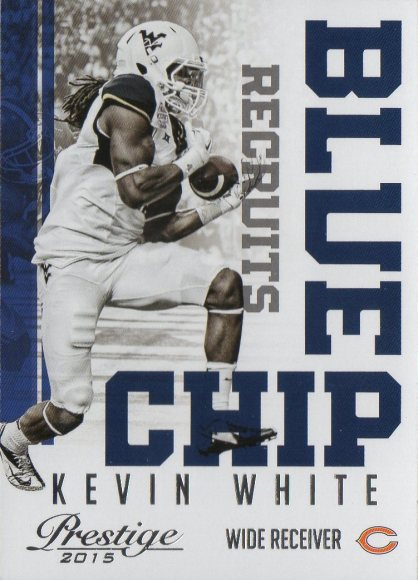 2015 Prestige Blue Chip Recruits #16 Kevin White