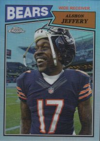 2015 Topps Chrome 60th Anniversary Refractors #T60AJ Alshon Jeffery /99