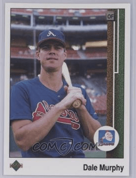 1989 Upper Deck Dale Murphy ERROR (via COMC)