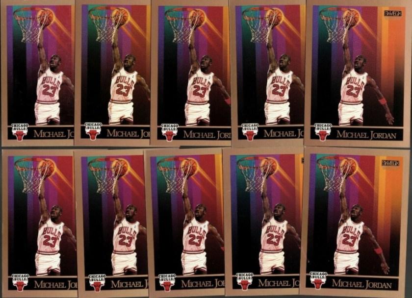 1990-91 Skybox #41 Michael Jordan cards