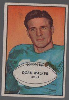 1953 Bowman #6 Doak Walker