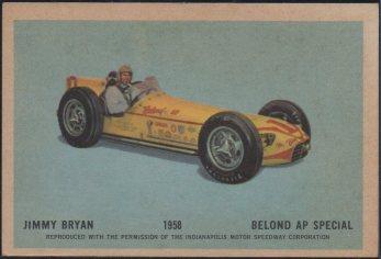 1960 Parkhurst Hawes Wax Indy #42 Jimmy Bryan