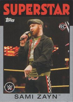 2016 Topps WWE Heritage - Silver #68 Sami Zayn S#23/50