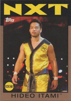 2016 Topps WWE Heritage - Bronze #66 Hideo Itami S#71/99