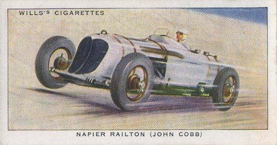 1938 Wills' Cigarettes #19 John Cobb