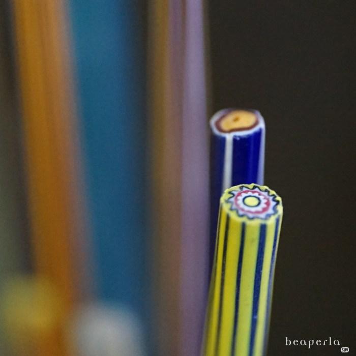 Murrine, millefiori beads