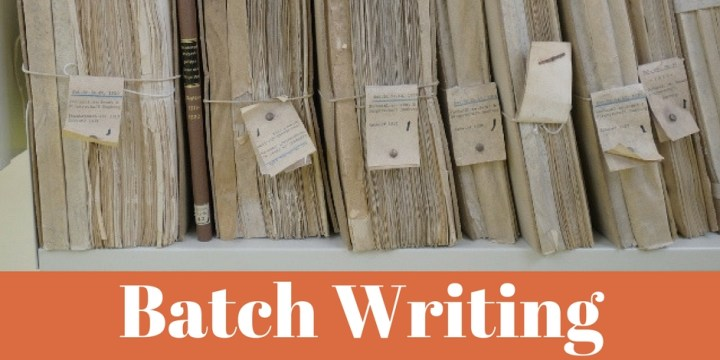 Batch Writing