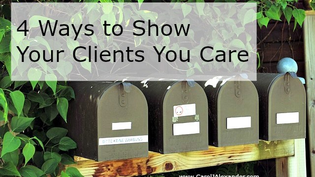 Show Your Clients You Care