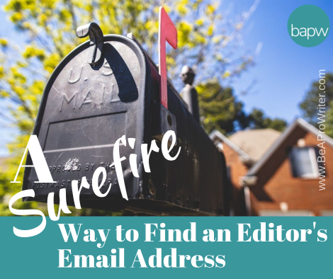 A Surefire Way to Find an Email Address | Be a Pro Writer