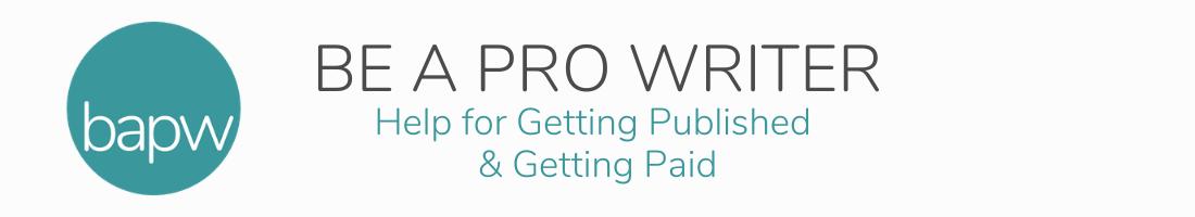 Be a Pro Writer Logo