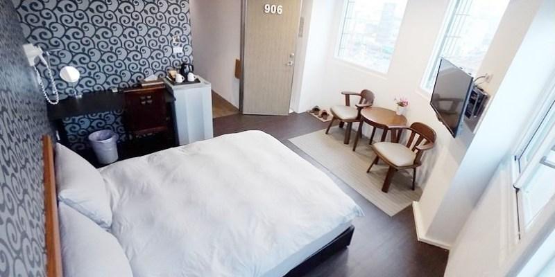 [台南住宿] 台南●巧家 — 乾淨簡約的雙人住宿房,近海安藝術裝置與國華街小吃約訪