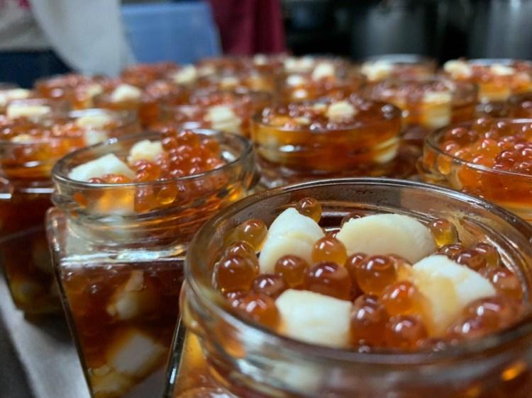 幽靈鮭魚卵干貝醬快閃彰化!只有短短三天,沒預約吃不到