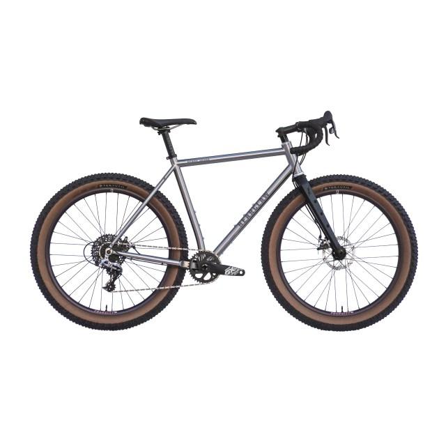 Beaux Jaxon Rival 1 Titanium Gravel Plus Bike