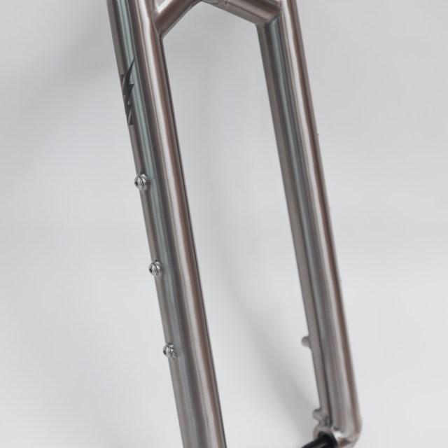 Titanium Fork for Gravel Plus, Bikepacking, Touring