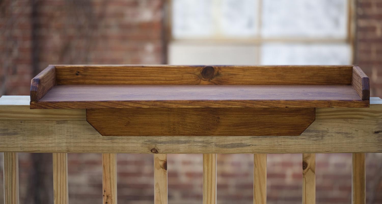 Rail Tray - Dark Oak