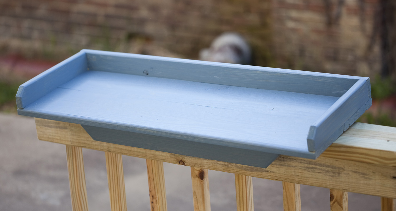 Rail Tray - Colonial Blue