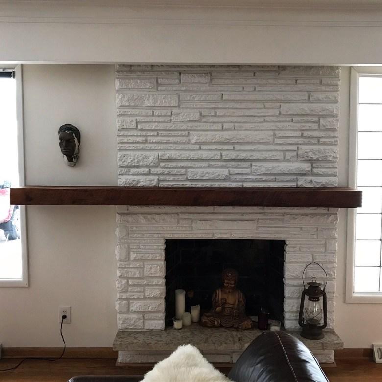Fireplace Mantle Floating Shelf