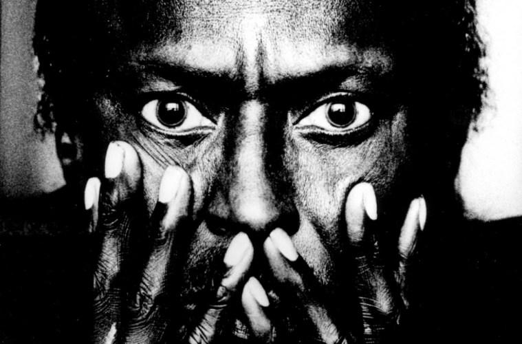 Miles Davis close up