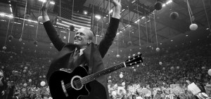 President Ford with a Guitar