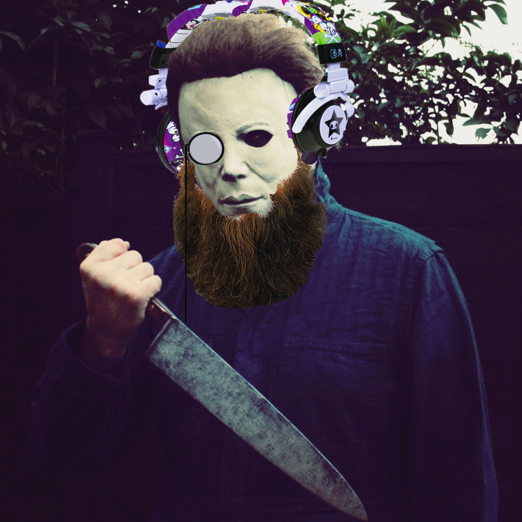 Michael Myers with a beard