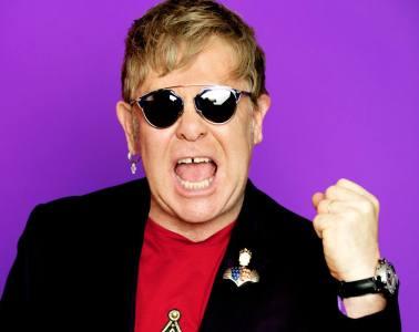Elton John Wig