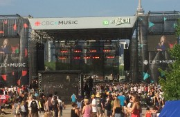 The 2016 CBC Music Festival at Echo Beach, Toronto