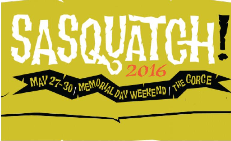 Sasquatch 2016 Recap