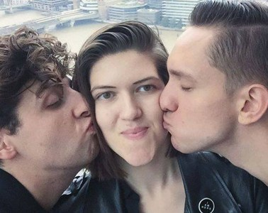 The xx making out