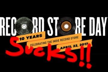 Record Store Day Sucks