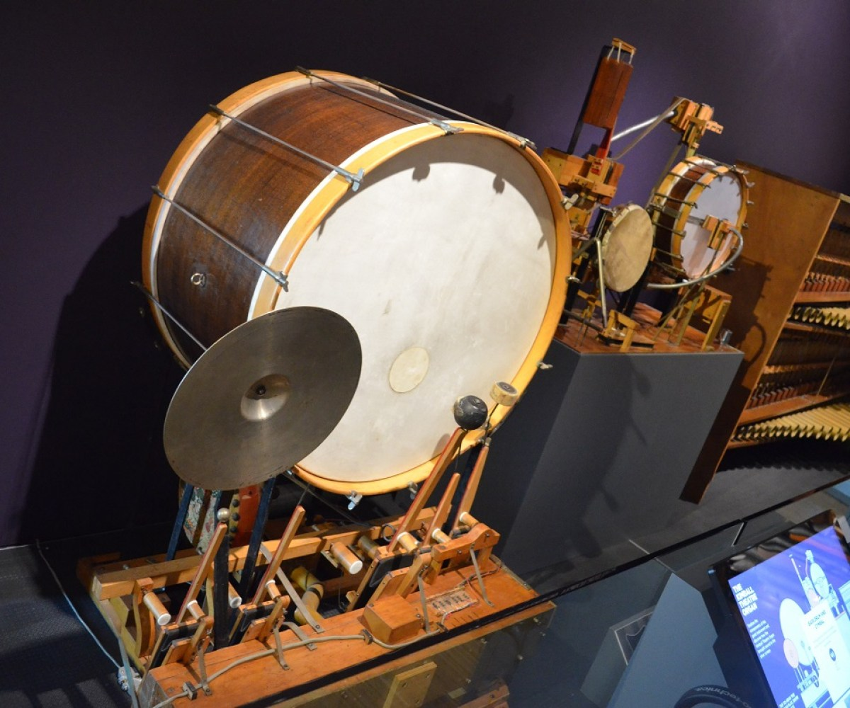 National Music Centre Drum