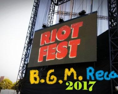 Riot Fest Recap 2017