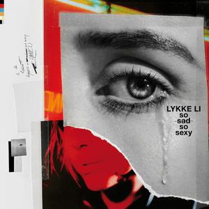 the cover art for lykke li's SO SAD SO SEXY