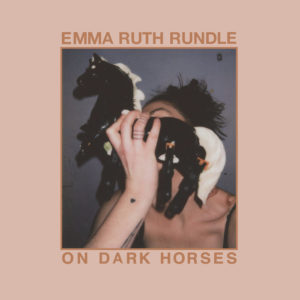 the cover art for emma ruth rundle's ON DARK HORSES