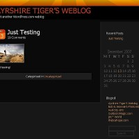 The Ayrshire Tiger in Test Mode