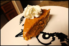 Eggnog Pumpkin Pie from PaleOMG