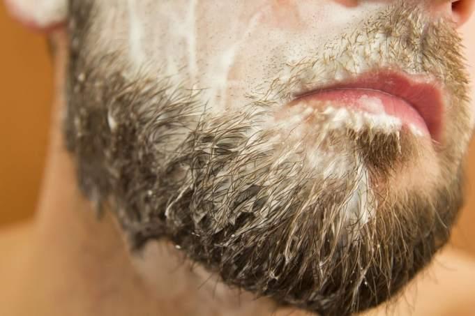 Image result for mens beard shampooing