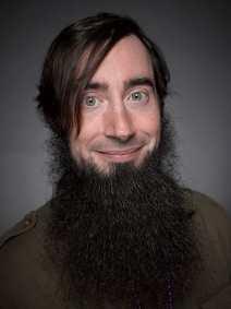 long beard without mustache