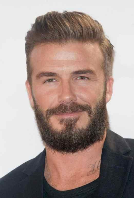 beard styles beckham
