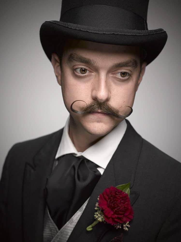 No Beard Only Moustache