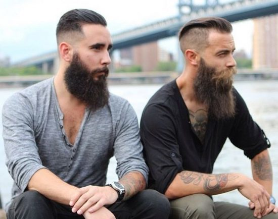 long full beards for Round Face