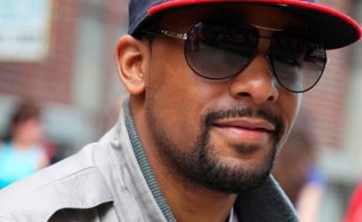 Faded Goatee beard style for black men
