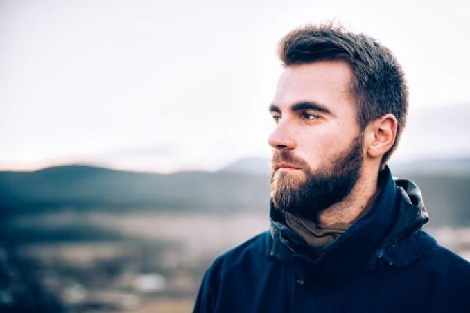 beard gives a man attractive look